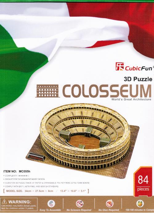 PUZZLE 3D COLOSSEO COLOSSEUM