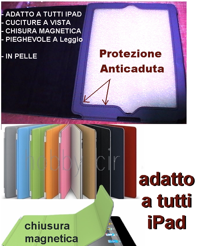 Custodia IPAD IN PELLE