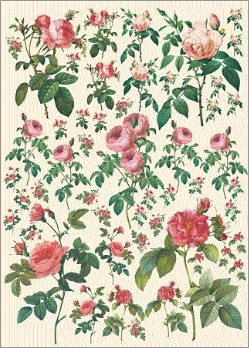 Carta x decoupage fig.115 (o similare)