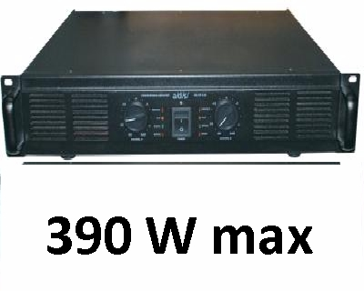AMPLIFICATORE STEREO 200Wx2