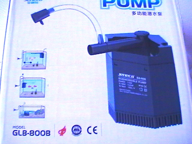 POMPA SOMMERSA 5,5W RICICLO 180 L/H 8800
