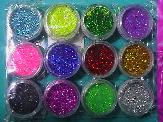 8 GLITTER DA 580ml.ASSORTITI 2199