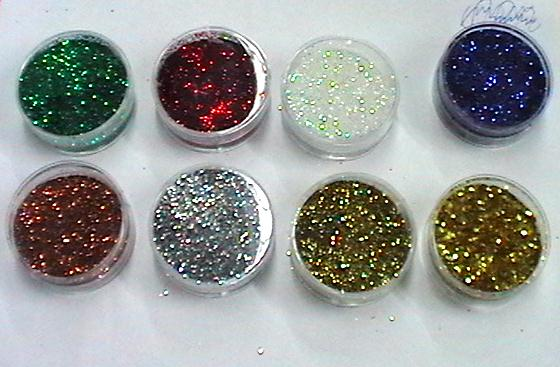 glitter BRILLANTINA in polvere - cialda da 8 ml.