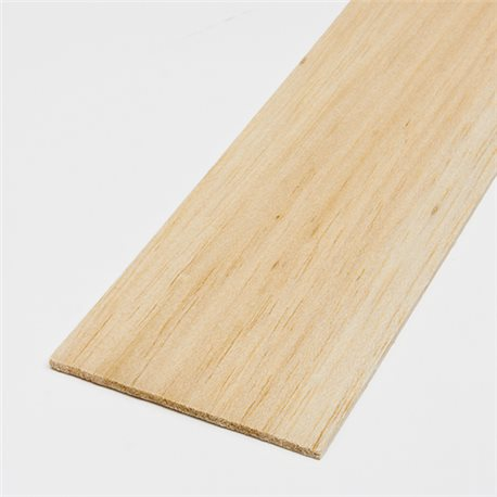 Tavoletta Balsa 4x100x1000 mm (media)