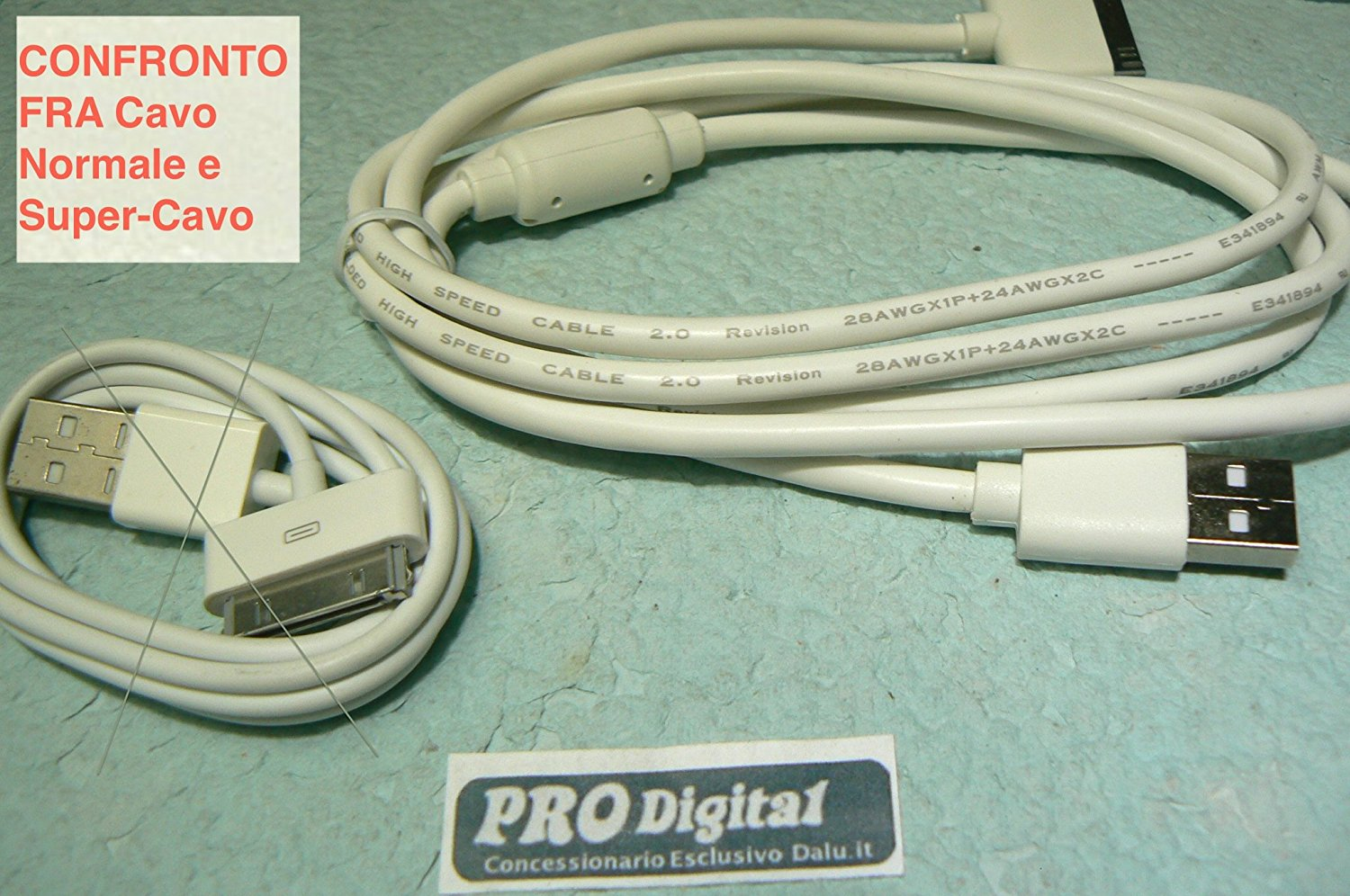 ProDigital USB CABLE IPHONE 4 E IPAD