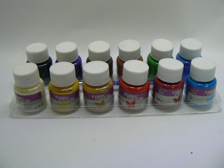 Colori per stoffa Assortiti 25ml cad.
