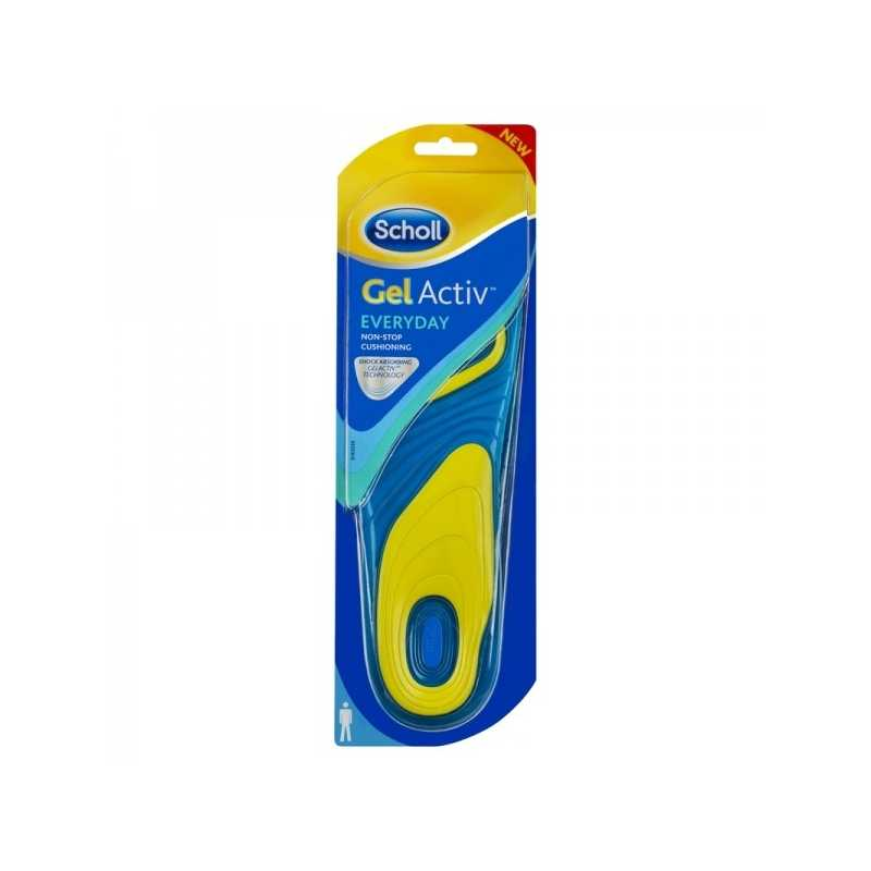 SCHOLL GEL ACTIV EVERYDAY uomo tg 42/48