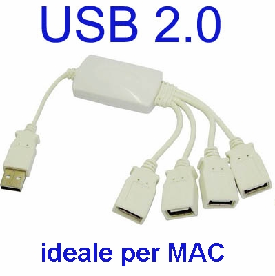 DUBLICATORE USB 1 A 4 X MAC