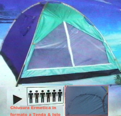 TENDA IGLOO Stile Canadese da 6POSTi