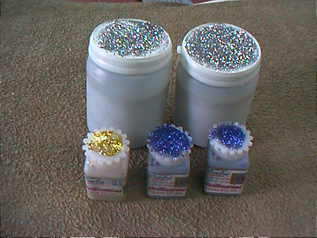 Glitter brillantina in polvere color oro da 1000 ml.