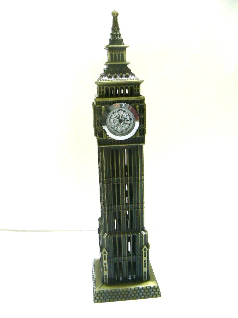 BIG BEN LONDRA INTERAMENTE in metallo 60 cm circa