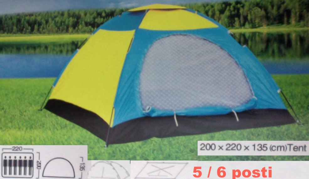 TENDA IGLOO Stile Canadese da 5/6 POSTi