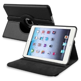 Custodia per Mini iPad eco pelle rotante